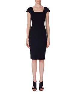 Square-Neck Sheath Dress by Roland Mouret  in Billions