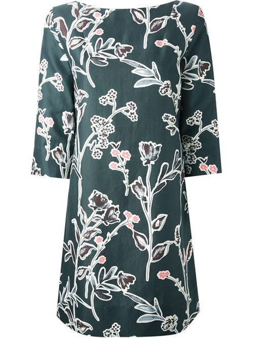 Floral Print Dress by Marni in Legend