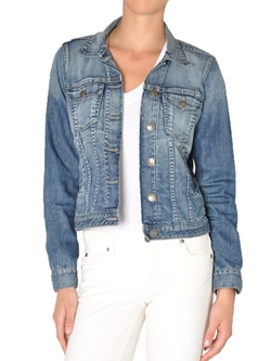 Ryder Denim Jacket by Fidelity Denim in Freaky Friday