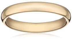 Comfort Fit Plain Wedding Band Ring by Amazon Curated Collection in While We're Young