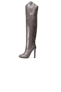 Over the Knee Tab Boots by Tania Spinelli in Gossip Girl