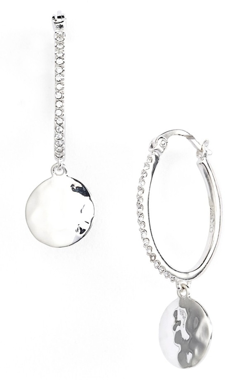 'Cooling Effects' Oval Hoop Earrings by Judith Jack in Pretty Little Liars - Season 6 Episode 4