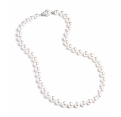 Knotted Faux Pearl Necklace by Nadri in Lady Dynamite
