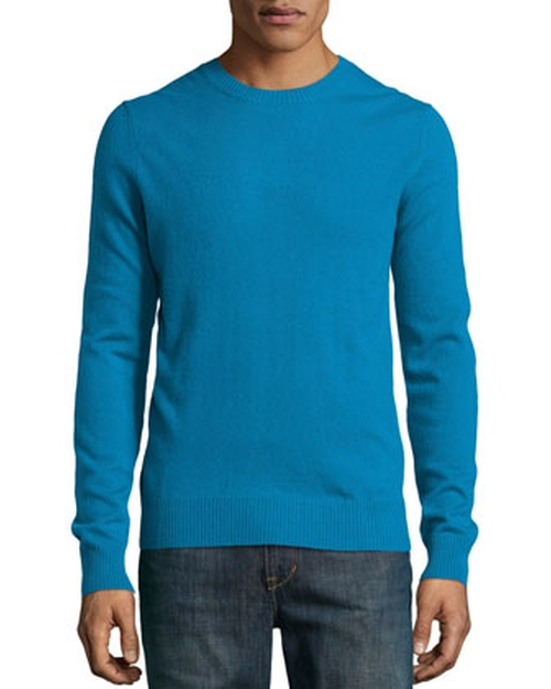 Cashmere Crew-Neck Sweater by Neiman Marcus in Mean Girls