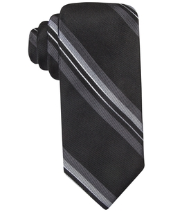 Stripe Slim Tie by Ryan Seacrest in Supergirl