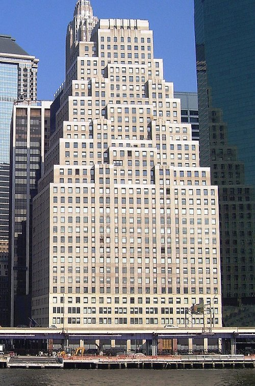 120 Wall Street Building New York City, New York in The Devil Wears Prada