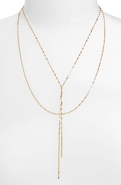 Blake Lariat Necklace by Lana Jewelry in The Other Woman