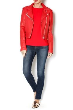 Zefir Leather Jacket by IRO in Pretty Little Liars