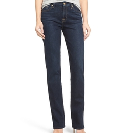 'Kimmie' Straight Leg Jeans by 7 For All Mankind in The Boss