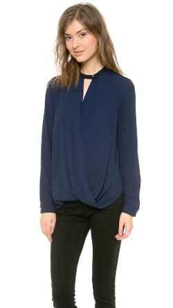 Long Sleeve Blouse by And B in Addicted