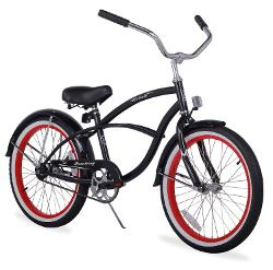 "Boys 20"" Beach Cruiser Bicycle Firmstrong Urban Boy Single Speed by Firmstrong in Unbroken"