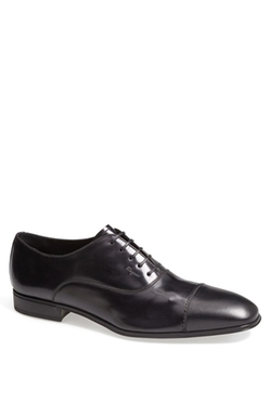 Remigio Cap Toe Oxford Shoes by Salvatore Ferragamo in The Loft