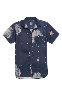 Floral Star Claude Woven Shirt by Civil in Savages