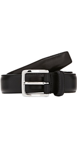 Leather Belt by Barneys New York in The Gift