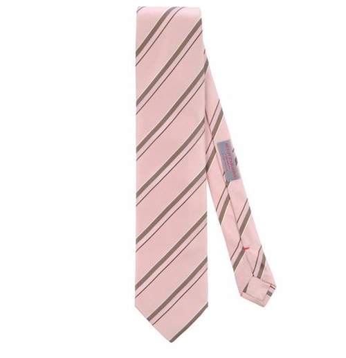 Stripe Tie by Hugh Parsons in New Girl - Season 5 Episode 16