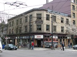 Vancouver, Canada by MacLeod's Books (Depicted as Book Barn) in If I Stay