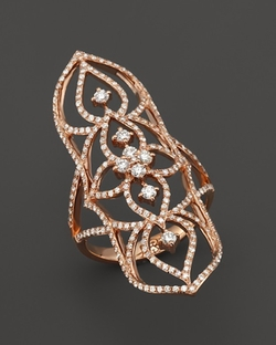 Diamond Filigree Statement Ring by Bloomingdale's in The Hunger Games: Mockingjay - Part 2