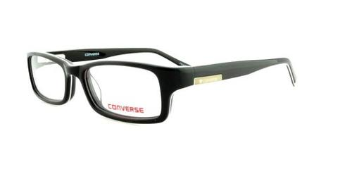 Eyeglasses Bold Black 46mm by Converse in Prisoners
