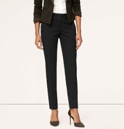 Tuxedo Slim Ankle Pants In Julie Fit by Loft in Pitch Perfect 2