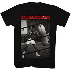 Mens Punching Bag T-Shirt by Muhammad Ali in Barbershop: The Next Cut