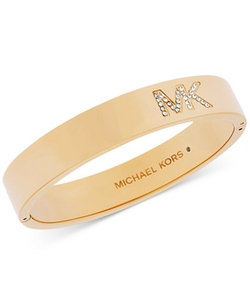 MK Logo Bangle by Michael Kors in Daredevil