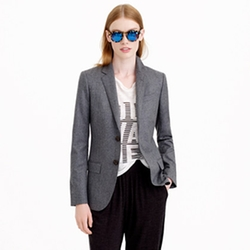 Women's Ludlow Blazer In Italian Wool Flannel by J.Crew in Quantico