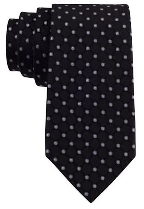 Silk Dot Print Tie by Michael Michael Kors in Sex and the City 2