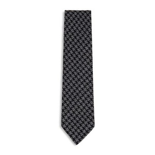 Oversized Houdstooth Classic Silk Tie by Tom Ford in Suits - Season 5 Episode 7
