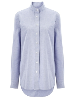 Oxford Tunic Shirt by Frame Denim in Supergirl
