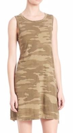 Camo Muscle Tee Dress by Current/Elliott in The Bachelorette