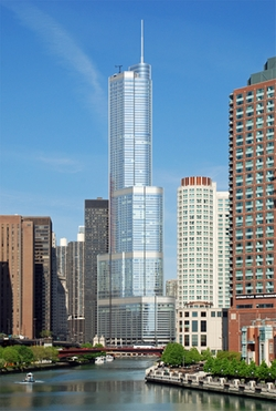Chicago, Illinois by Trump International Hotel and Tower in Bridesmaids