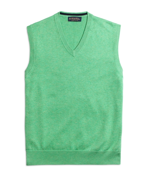 Supima Cotton Vest by Brooks Brothers in Scream Queens