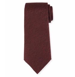 Melange Silk Tie by Armani Collezioni in Shadowhunters