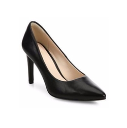 Amelia Grand Leather Point-Toe Pumps by Cole Haan in The Boss