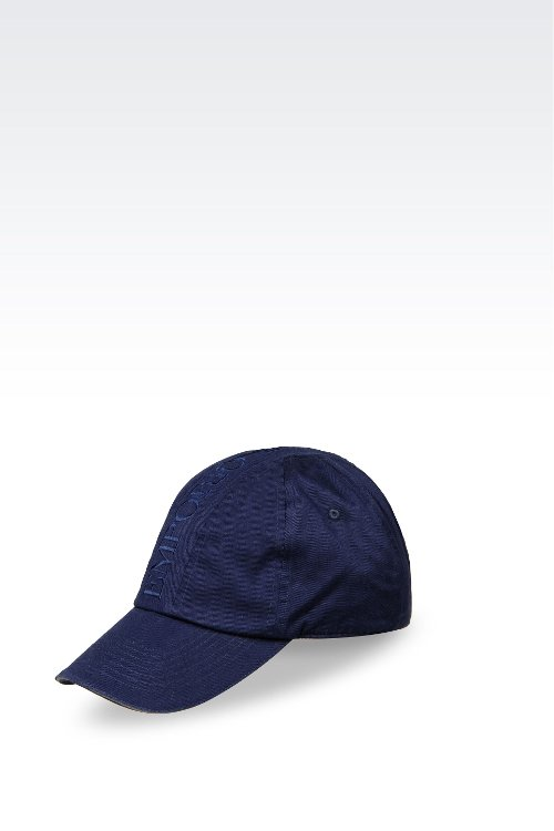 Cotton Baseball Cap by Emporio Armani in Entourage