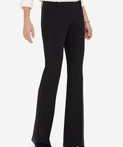 Drew Classic Flare Pants by The Limited in The Boss