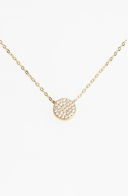 'Geo' Small Pendant Necklace by Nadri in Jem and the Holograms