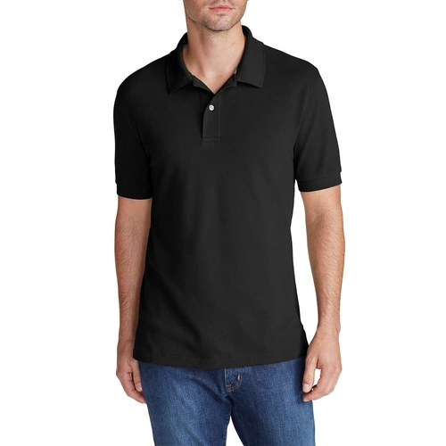 Men's Field Short-Sleeve Polo Shirt by Eddie Bauer in Flaked - Season 1 Preview