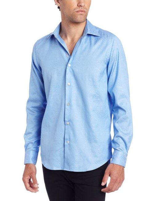 Men's Alex Dress Shirt by Robert Graham in San Andreas