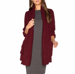 Manon Cardigan by John & Jenn by Line in A Bad Moms Christmas