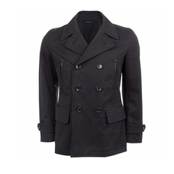 Cotton Pea Coat by Tom Ford in Elementary