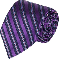 Mixed-Stripe Jacquard Silk Neck Tie by Barneys New York in Suits