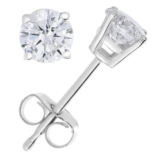 Diamond Stud Earrings by Vir Jewels in Sex and the City