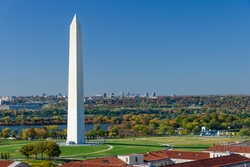 Washington, DC by Washington Monument in Jack Reacher: Never Go Back