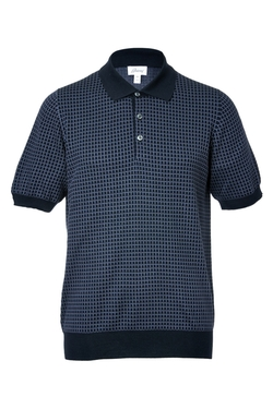 Wool-Silk Knit Polo by Brioni in Youth