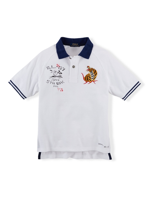 Hawaii Cotton Polo Shirt by Polo Ralph Lauren in Vacation