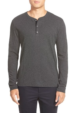 Long Sleeve Henley Shirt by Vince in American Horror Story