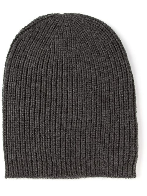 Ribbed Knit Beanie by P.A.R.O.S.H. in Scream Queens - Season 1 Episode 2