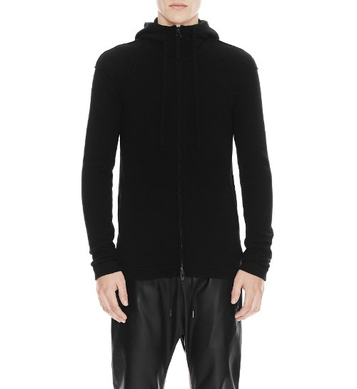 Unisex Core Cashmere Hoodie by Helmut Lang in Entourage