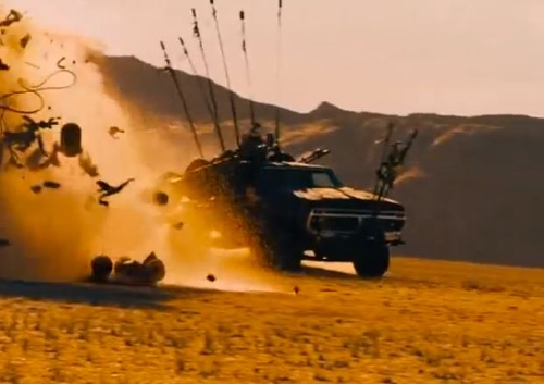 Modified 1973 F-100 Pickup Truck by Ford in Mad Max: Fury Road